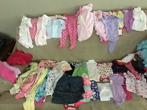 Baby girl clothes (10 full bags)