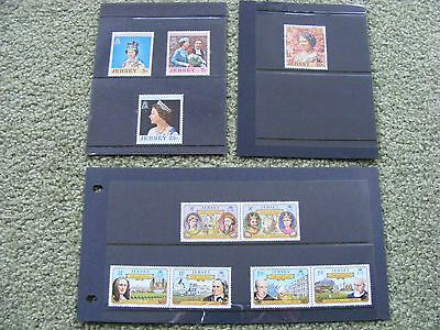 Jersey Definitive Issue Stamps 1980s - Kings and Queens - Mint