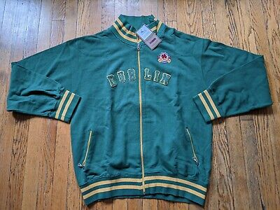 Mens Dublin Ireland Zip Up Sweater Size XL St Patrick's
