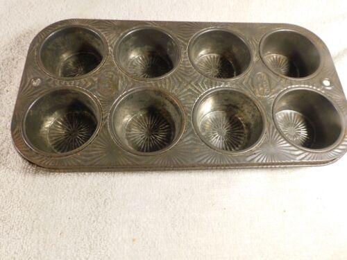 Vintage EKCO Starburst Muffin Tin - FREE SHIPPING