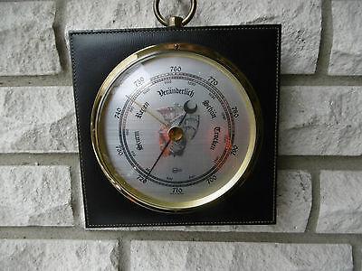 TOp großes maritimes Schiffsbarometer,Barometer von Barigo /mit Schiff