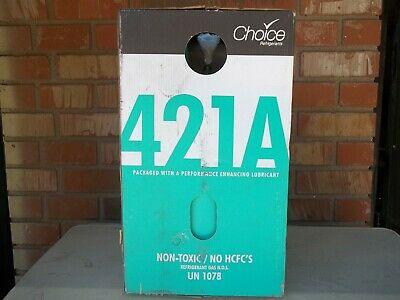 New R421a 421a R-421a Refrigerant 25lb Cylinder - R22 R-22 Drop In Replacement
