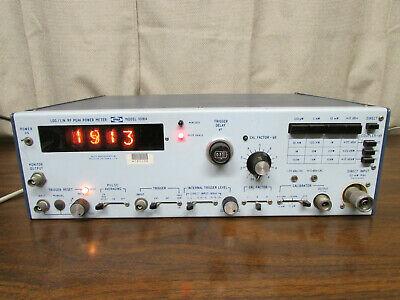 Wavetek 1018a Loglin Rf Microwave Peak Power Meter Pm Nixie Display