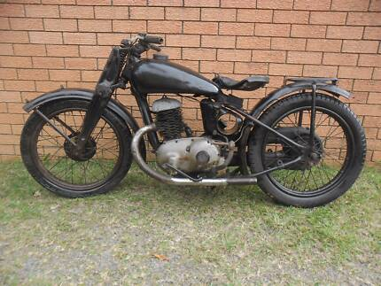 Triumph 1946 TWN  DB 250 made in Germany