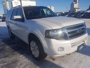 2014 Ford Expedition Max Limited Heated Leather Seats, Remote...