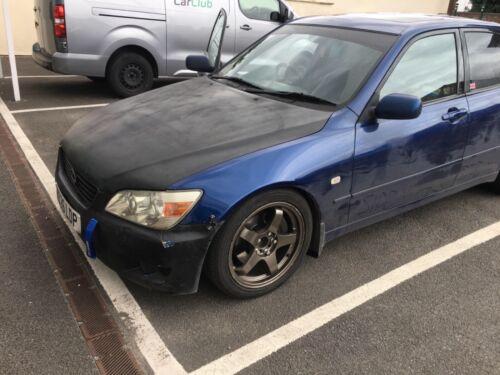 Image of Lexus is200 blue manual petrol drift ready road legal mot'd 2000 project bundle
