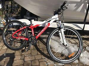 Kids Specialized Hotrock FSR 24 mountain bike