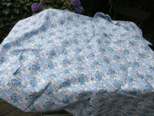 "Vintage  Duvet Cover  Floral Pattern  50 "" by 75 "" Never used !"