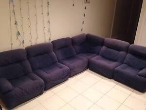 Six-seater modular sofa Chadstone Monash Area Preview