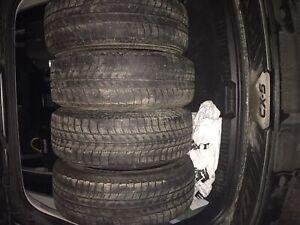 4- Micheline X Ice tires- 225/65/17