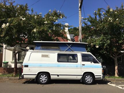 Toyota Hiace Poptop Campervan