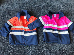 Baby high vis traded work shirts size 0 Padstow Heights Bankstown Area Preview