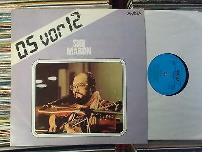 SIGI MARON DDR AMIGA LP 05 VOR 12 855982