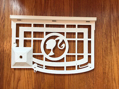 Barbie Dream House 2012 Replacement Part Only Third Floor Roof White