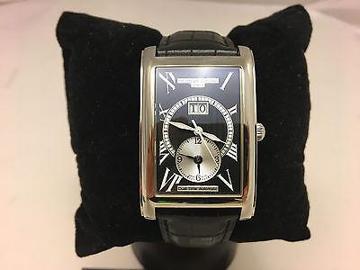 Frederique Constant Classics Carree Dual time Big date Black Dial FC-325BS4C26