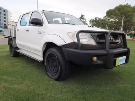 2010 Toyota Hilux SR UPGRADE KUN26R DUAL CAB ALLOY TRAY