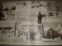 Photo Article The Lure Of The Ski 1949 R K -  - ebay.co.uk