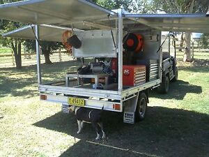 Work trailer custom built with many extras - located Tamworth Grafton Clarence Valley Preview