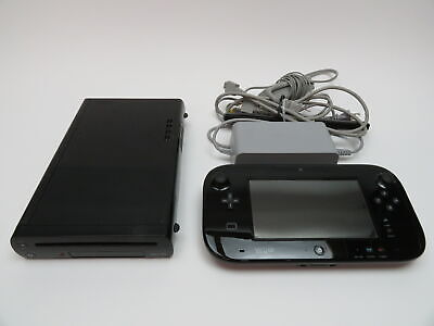 Nintendo WUP-101(02) Wii U Deluxe 32GB Black Video Game System 7541