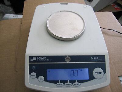 Denver Instrument S-602 Analytical Top Loading Digital Scale
