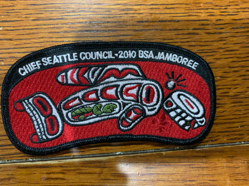 Mint 2010 JSP Chief Seattle Council Red Backing 2