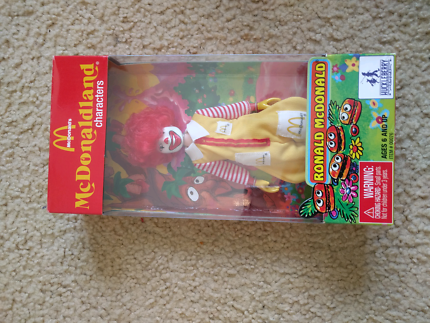 Ronald McDonald McDonald land toy character huckleberry