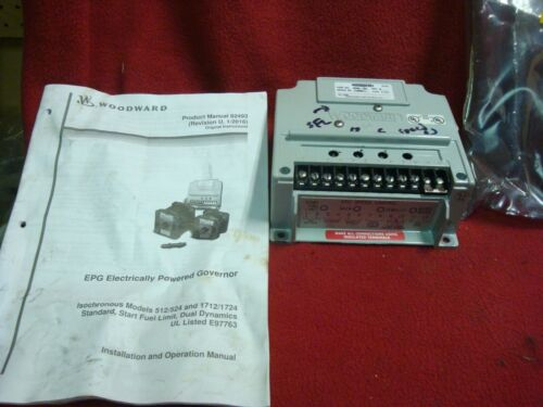 WOODWARD EPG 8290-184 Governor Speed Control good used