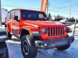 2018 Jeep Wrangler RUBICON 4X4 UNLIMITED *GPS* SIEGES CHAUFF *PR