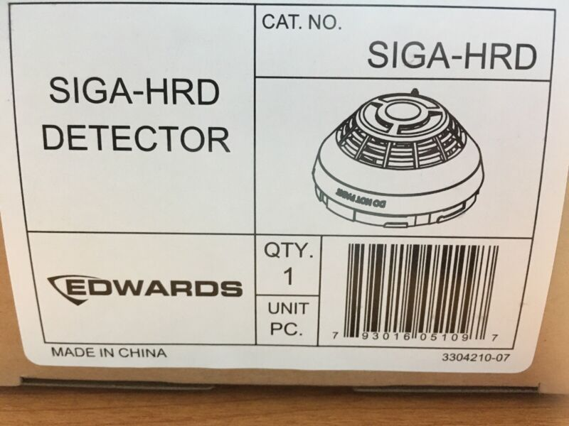 Edwards EST SIGA-HRD Intelligent fixed temperature/Rate-of-rise heat detector.