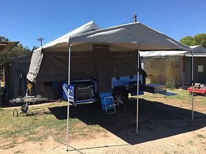 Excellent condition Ezytrail Sterling GT hard floor camper Lewiston Mallala Area Preview
