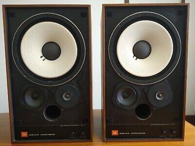 2-JBL 4311B Studio Monitor Speakers-All Original Vintage Classics! Sound Great!!