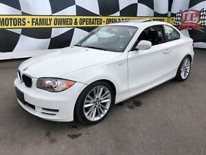 2011 BMW 1 Series 128i, Automatic, Leather, Sunroof, Heated Seat
