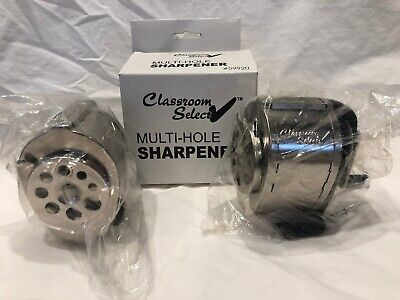 2 Classroom Select Pencil Sharpener Wall Mount In Wrappers 1 Original Box