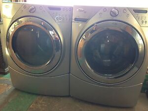Whirlpool Duet Front Load Washer and Dryer Steam!!!!!