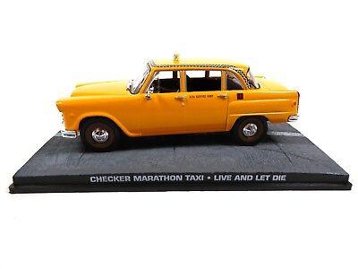 Checker Marathon Taxi James Bond 007 - 1:43 Diecast Model Car DY077
