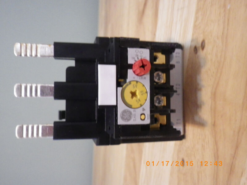 GENERAL ELECTRIC THERMAL OVERLOAD RELAY  RT22H