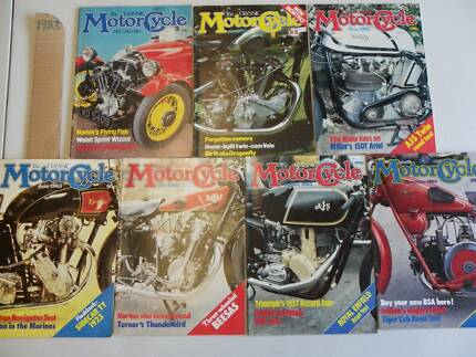 THE CLASSIC MOTORCYCLE MAGAZINES