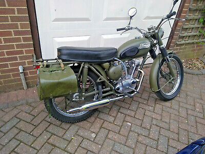 Triumph Tiger Cub, 1965, French Army Version, very good renovation, looks lovely
