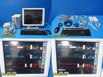Spacelabs Ultraview Sl2800 Patient Monitor W Printer Module New Leads19336