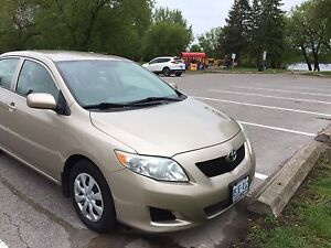 2010 Toyota Corolla certified and e-tested