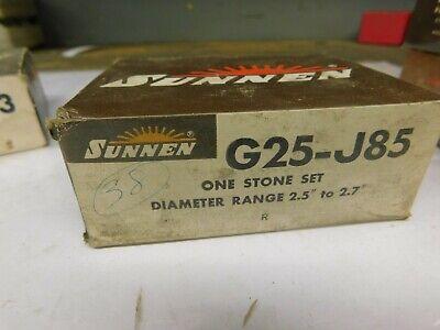 Sunnen Portable Hone G25-j85 Stone Set
