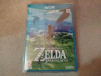 The Legend of Zelda : Breath of The Wild (Wii U Game, 2017) PAL Brand New Sealed