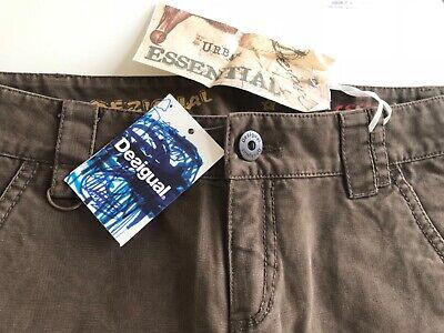 "Funky Desigual Cotton Trousers, 30"" Waist, NWT"