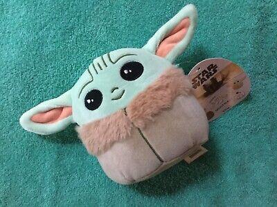 BABY YODA THE CHILD Squishmallow 5 inch Disney Star Wars Mandalorian Plush Toy