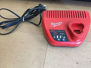 Milwaukee C12C 12V Li-Ion RED LITHIUM Battery Charger Brunswick East Moreland Area Preview