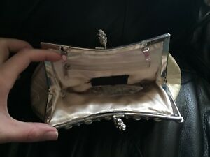White Jewelled Clutch
