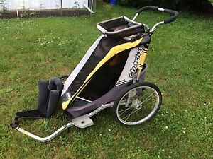 Chariot Cougar bike/running trailer