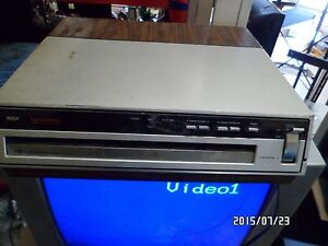 Rca video disc player for sale