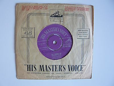 "Elvis Presley All Shook Up Orig HMV 1957 Purple Silver Label 7"" Single 45-POP359"