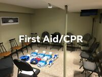 First Aid/CPR/AED Training and Certification